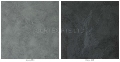 Vinyl tiles - Stone Series, 5mm thick, no need to glue down, available in light an dark grey colour